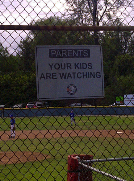 They're Only Kids, It's Only A Game, Umpires Are Only Human