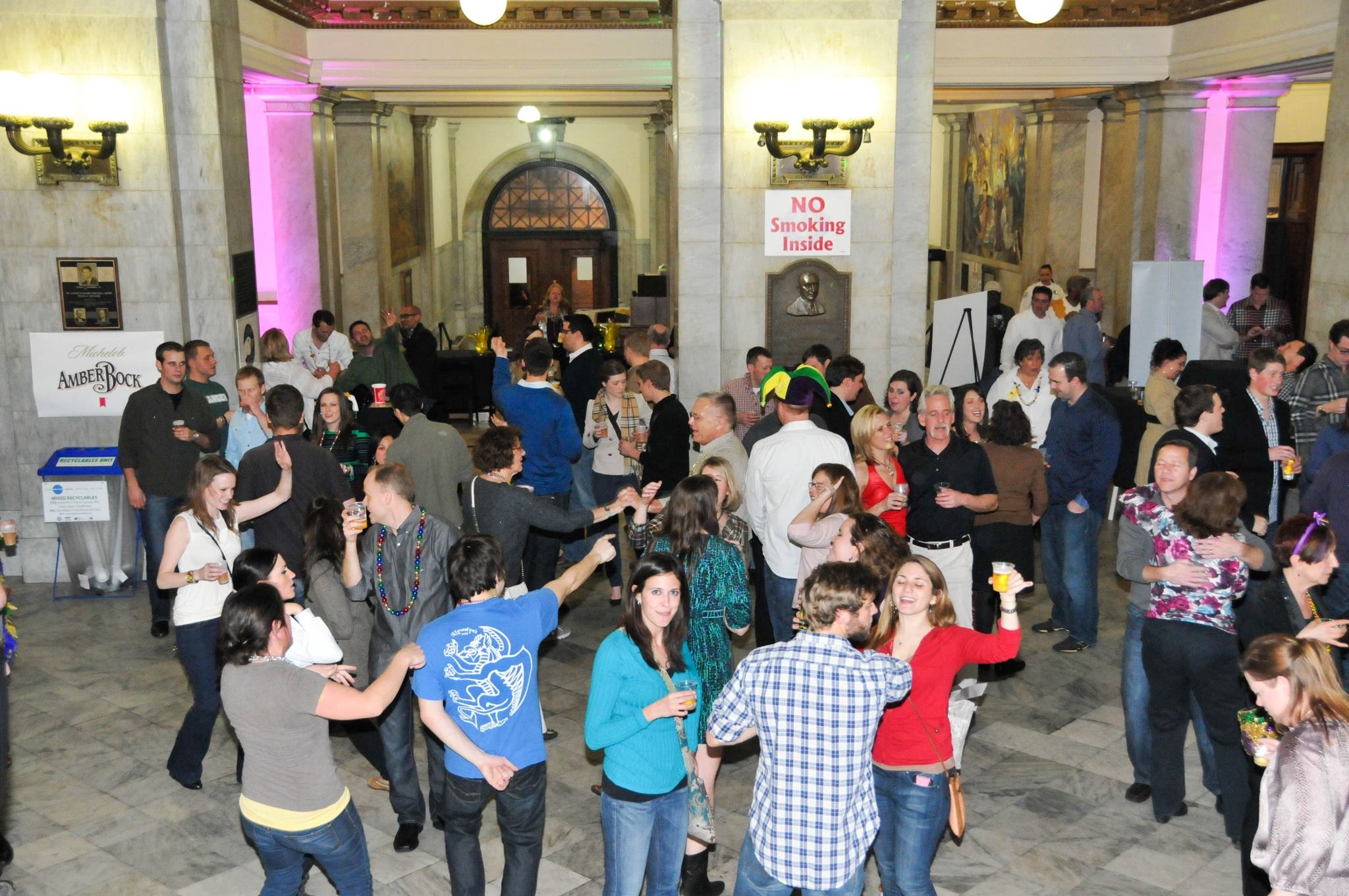Mardi Gras Takes Over City Hall