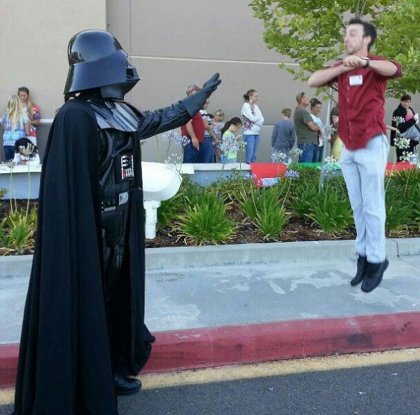 Goodbye Planking, Hello Vadering