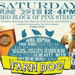 Farm dog block party