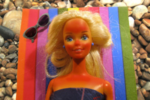 burnt barbie