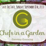 chefs in a garden