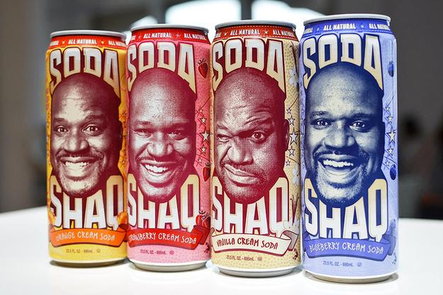 Shaq Slings Soda?