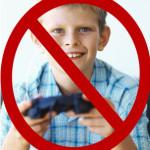 no video games