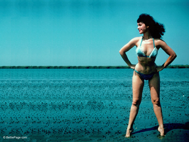 Why Bettie Page?