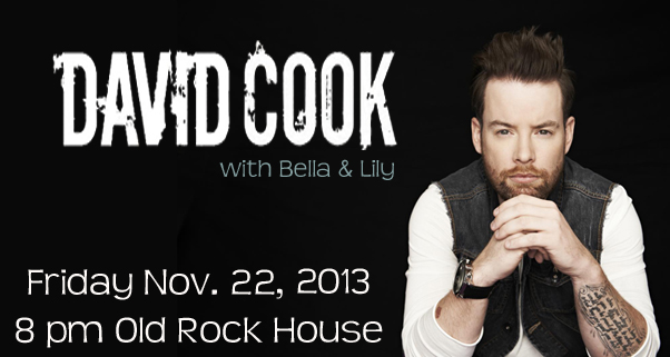 David Cook at Old Rock House This Friday
