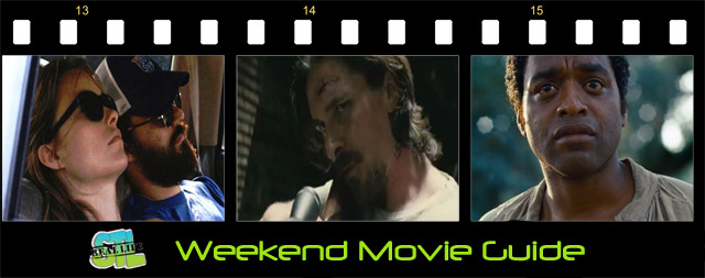 Out of the Furnace opens in theaters. Catch 12 Years A Slave in select theaters. Drinking Buddies makes its way to Redbox. It's the Weekend Movie Guide