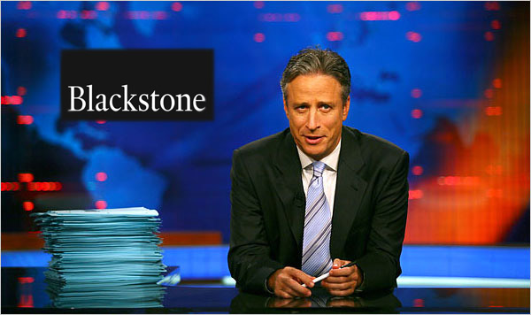The Daily Show takes on Blackstone