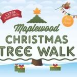 maplewood christmas tree walk