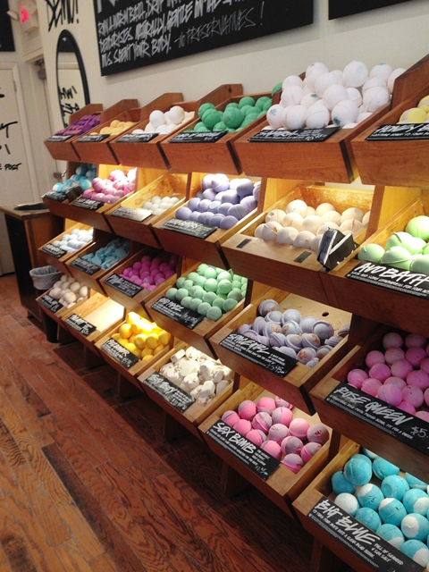 Add a little LUSH to your life