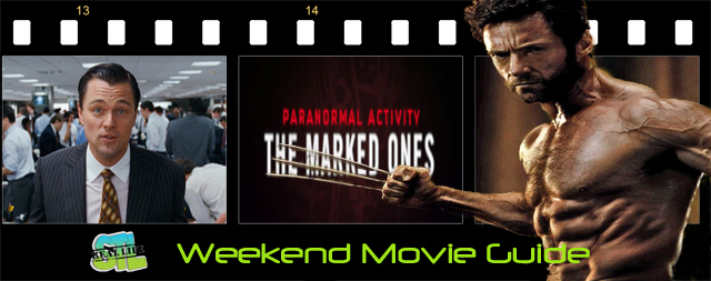 The latest Paranormal Activity is the only movie opening this weekend. The Wolf of Wall Street opens at MX Movies and The Wolverine is available at Redbox. It's Your Weekend Movie Guide.