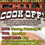 Ferguson Brewing Chili Cookoff