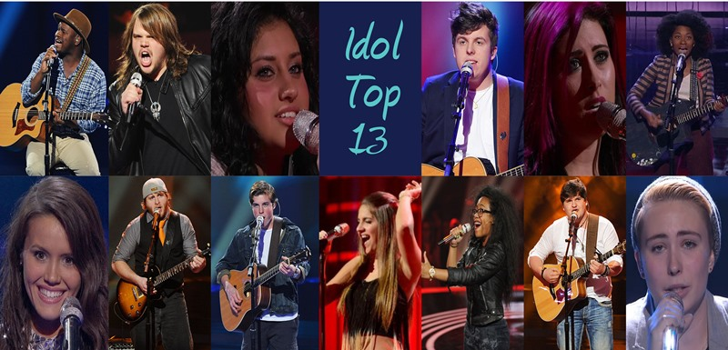 American Idol Season 13 Top 13