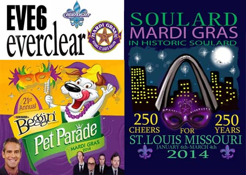 Mardi Gras 2014 In St. Louis