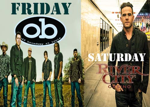 David Nail and the Casey Donahew Band Playing St. Louis This Weekend