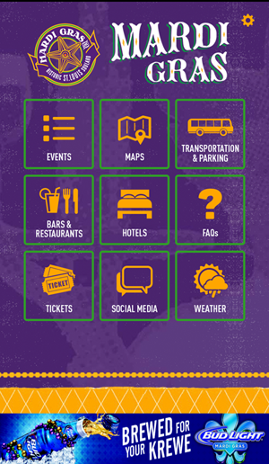Download the Soulard Mardi Gras App