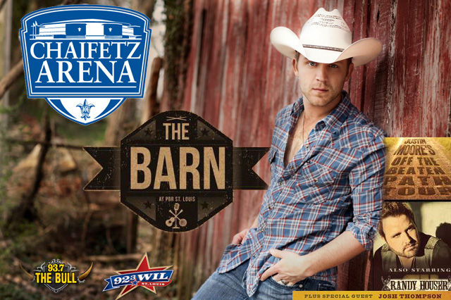 Justin Moore Takes Over St. Louis On March 27