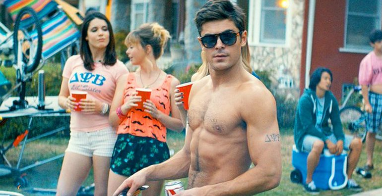 Zac Efron Gets Punched in the Face