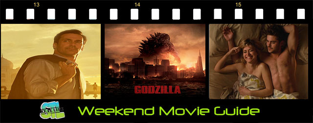 Weekend Movie Guide: Godzilla, Million Dollar Arm
