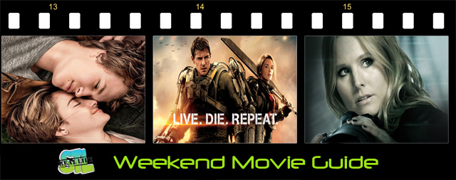 Weekend Movie Guide: Edge of Tomorrow, The Fault in Our Stars