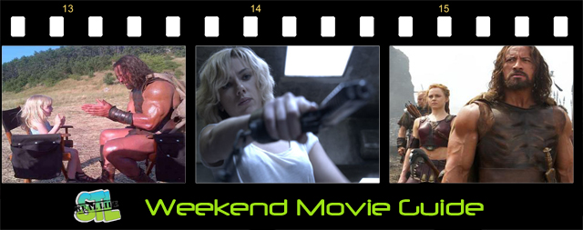 Weekend Movie Guide: Hercules, Lucy