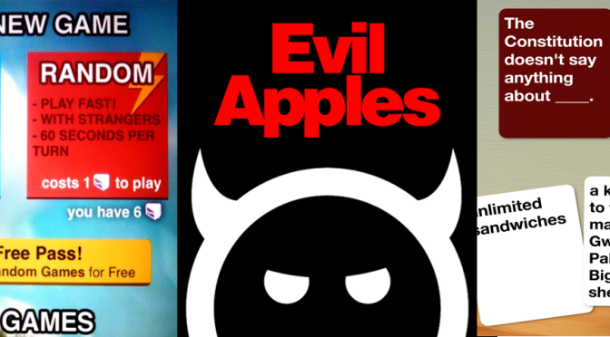 Evil Apples App: The Obsession is Real