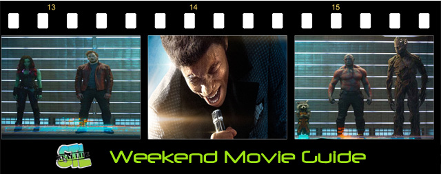 Weekend Movie Guide: Guardians of the Galaxy, Get On Up