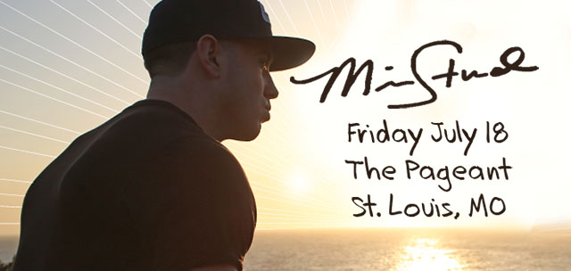 Mike Stud will be in St. Louis July 18 playing The Pageant