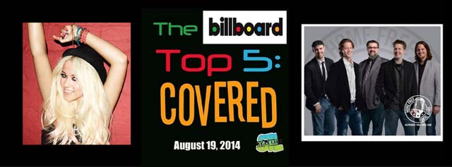 Billboard Top 5: Covered (Amelia Lily, Home Free, Kina Grannis)
