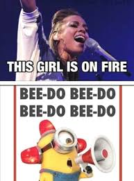 On Fire Minion