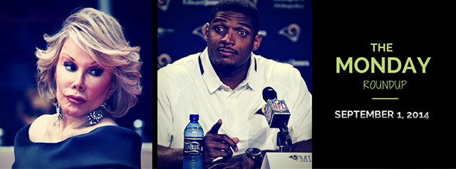 Monday Roundup: Michael Sam, Joan Rivers