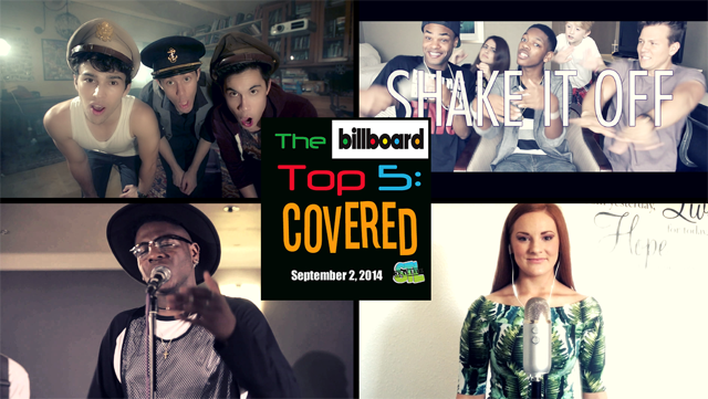 Billboard Top 5: Covered featuring Tyler Ward, MAX, Kurt Schneider, Sam Tsui, Kris Allen, Loveable Rogues and more