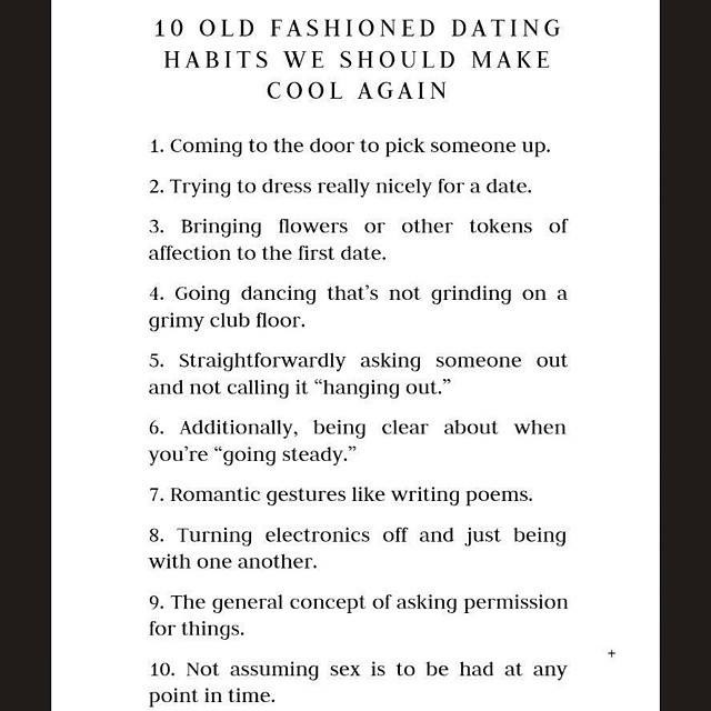 Dating chivalry