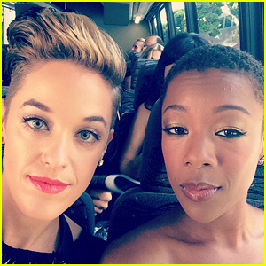 Lauren Morelli and Samira Wiley of Orange is the New Black
