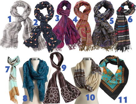 Fall Fashion: Scarves