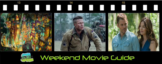 Weekend Movie Guide: Fury, Best of Me, Book of Life
