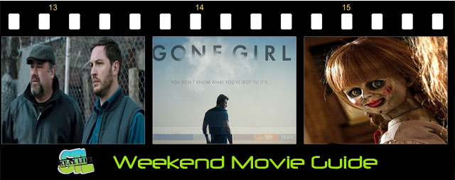 Weekend Movie Guide: Gone Girl, Annabelle