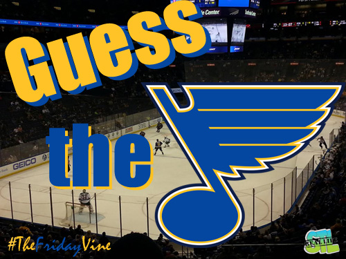The Friday Vine October 2014: Guess The St. Louis Blues Star
