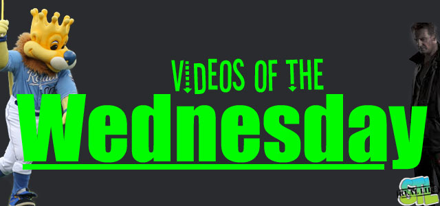 Videos of the Wednesday: Kansas City Royals, Taken 3, Elmo