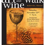 Art & Wine Walk Flyer