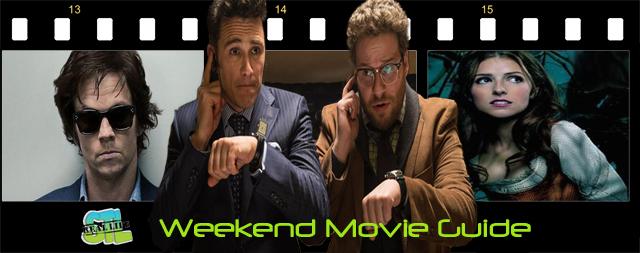 Weekend Movie Guide: Interview, Unbroken, Gambler, Into the Woods