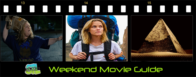 Weekend Movie Guide featuring Wild and The Pyramid