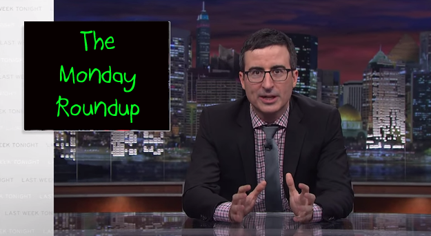 Monday Roundup: John Oliver Hates New Year's Eve