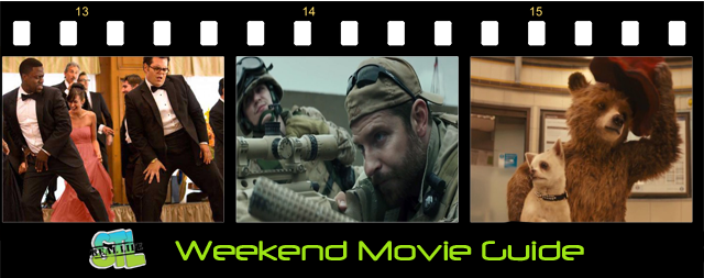 Weekend Movie Guide: American Sniper, Blackhat, Wedding Ringer, Paddington