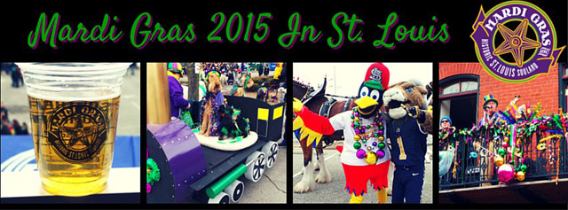 Mardi Gras 2015 In St. Louis