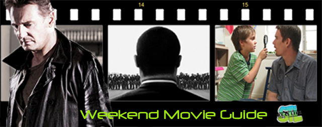 Taken 3 and Selma open this weekend. Boyhood is now available at Redbox