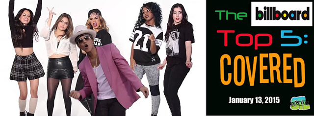 Billboard top 5 covered fifth harmony fifth harmony covers uptown funk in this weekes edition of the billboard top 5 thecheapjerseys Images