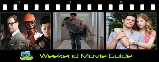 Weekend Movie Guide: Fifty Shades Of Grey, Kingsman