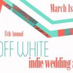 off-white wedding show