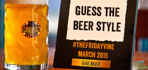 Friday Vine: Guess The Beer Style